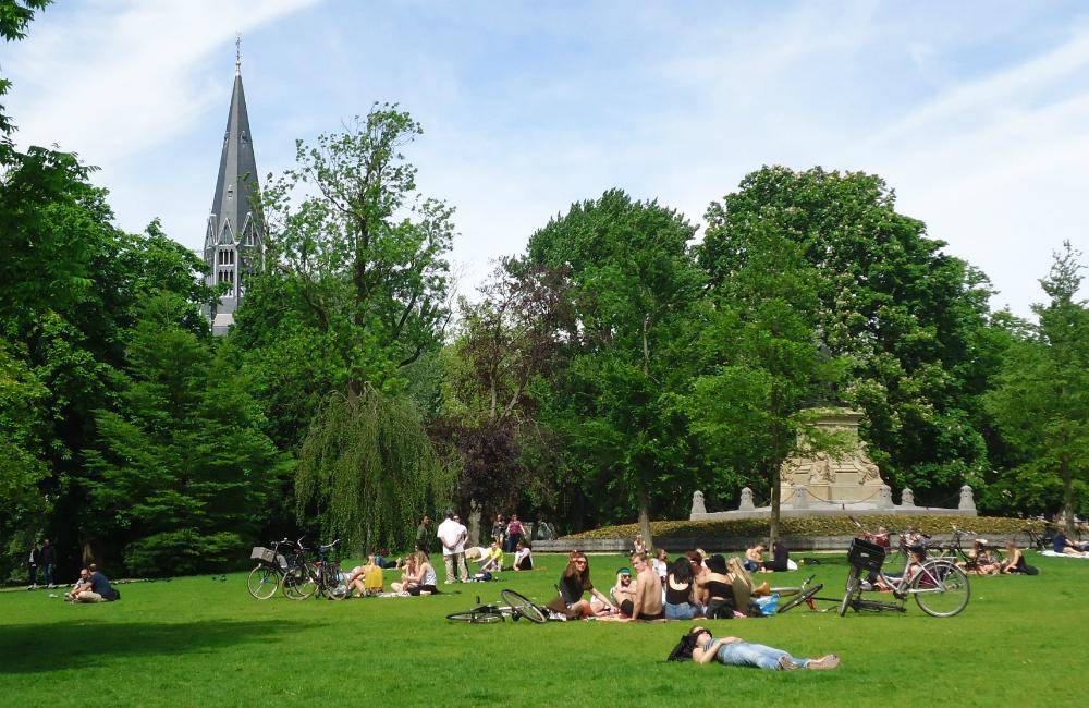 Parque Vondel © Guía de Amsterdam