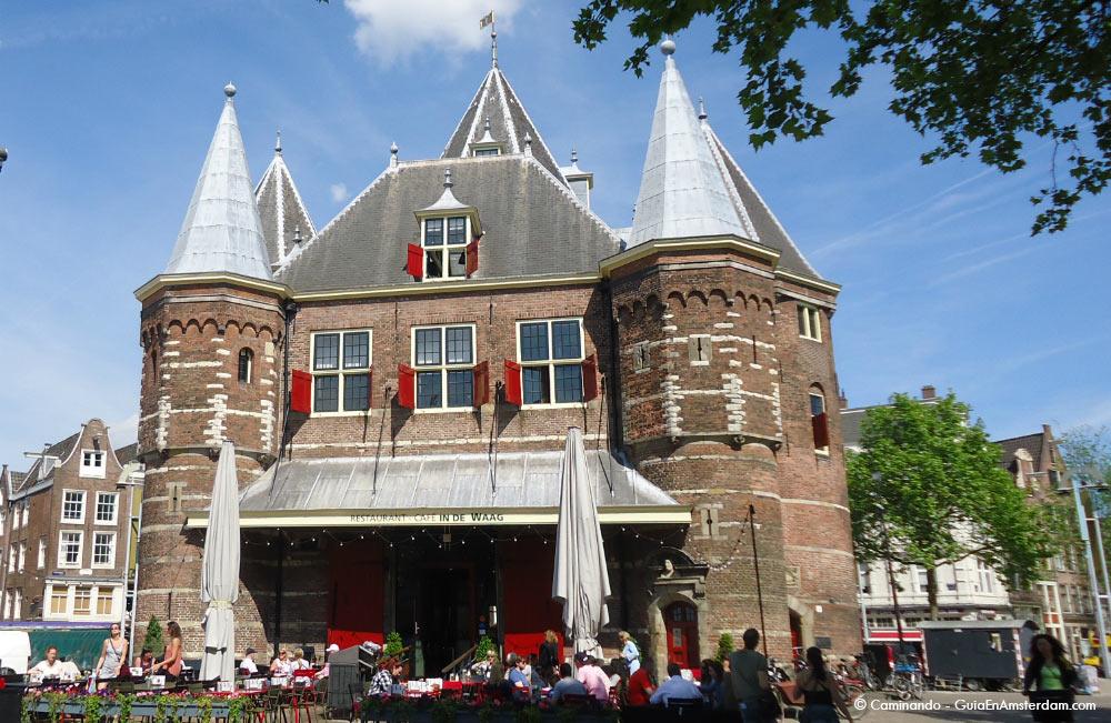 Casa de Peso Amsterdam visitas guiadas en español