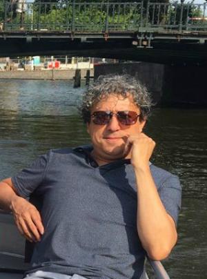 Fernando guía en Amsterdam